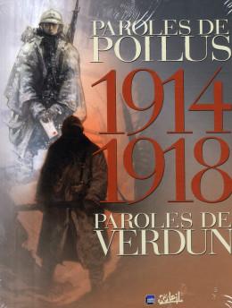 1914-1918 : paroles de poilus ; paroles de verdun (coffret édition 2008)