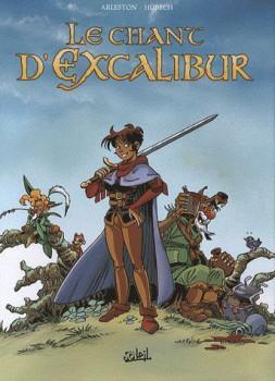 le chant d'Excalibur - coffret tome 1 à tome 3