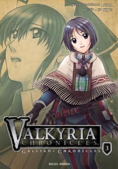 valkyria chronicles tome 3 - les contes de gallian