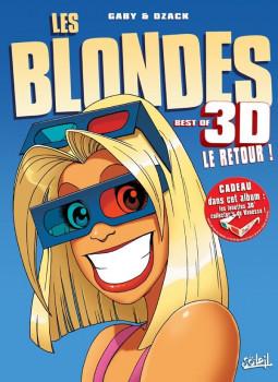 les blondes - en 3D tome 2 + lunettes - le retour !