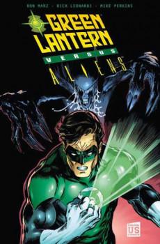 green lantern ; vs aliens
