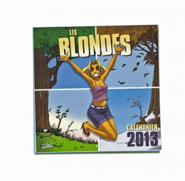 calendrier les blondes 2013