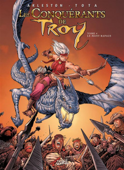 Les Conquérants de Troy tome 4