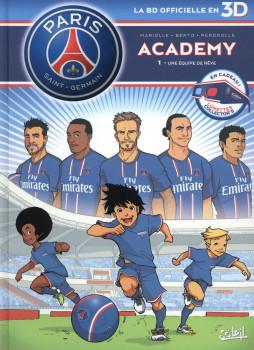 PSG Academy tome 1 en 3D