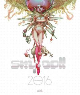 Sky doll - calendrier 2016