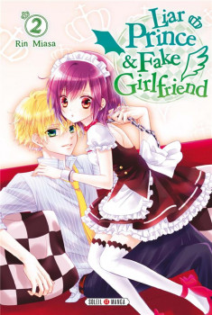 Liar prince & fake girlfriend tome 2