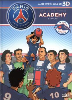 PSG Academy tome 2 en 3D