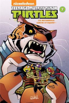 Teenage Mutant Ninja Turtles tome 2