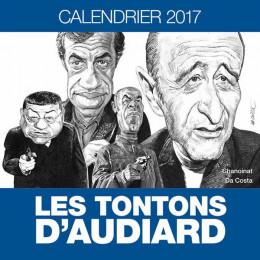 Les tontons d'Audiard - calendrier 2017