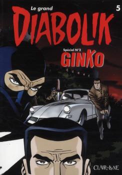 le grand Diabolik tome 5 - spécial tome 2 - Ginko