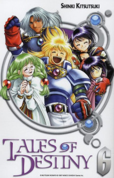 tales of destiny tome 6