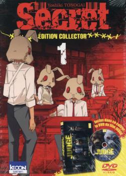 Secret tome 1 - collector avec DVD