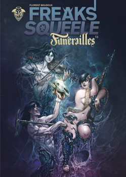 Freaks' squeele - funérailles tome 3