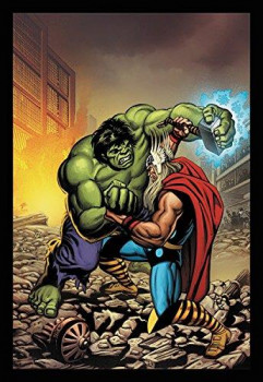 Roman marvel - Hulk VS Thor