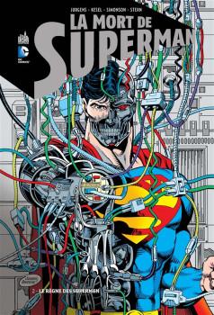 la mort de superman tome 2 - le règne des supermen