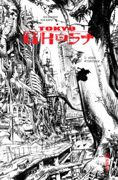 Tokyo ghost tome 1 - édition n&b