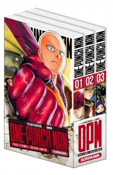 One-Punch Man - coffret tomes 1 à 3
