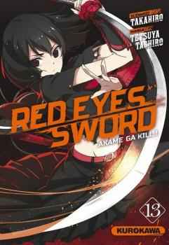 Red eyes sword - akame ga kill tome 13