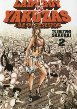Ladyboy vs yakuzas tome 2