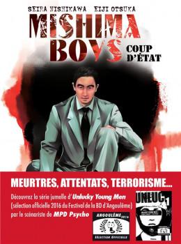 Mishima boys, coup d'état tome 1