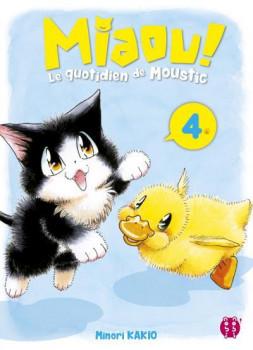 Miaou ! Le quotidien de Moustic tome 4