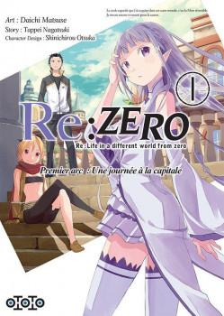 Re : Zero tome 1