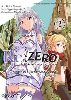 Re : Zero tome 2