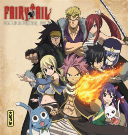 Fairy tail - calendrier 2017