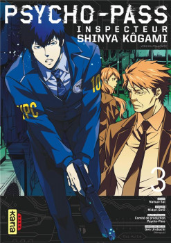 Psycho-pass inspecteur Shinya Kôgami tome 3