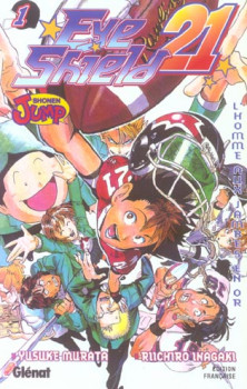 eye shield 21 tome 1 - l'homme aux jambes en or