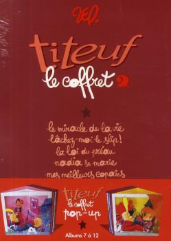 titeuf - coffret tome 7 à tome 12