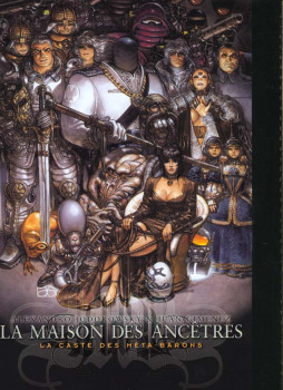 la caste des meta-barons HS.1; La maison des Ancêtres.