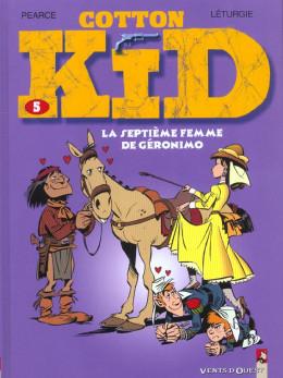 cotton kid tome 5 - la septième femme de geronimo
