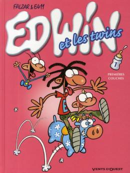edwin et les twins tome 1 - premières couches