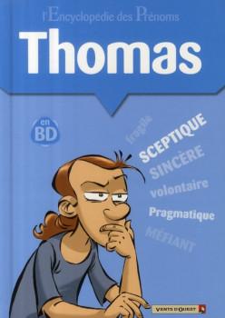 l'encyclopédie des prénoms en bd tome 32 - thomas