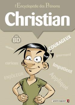 l'encyclopédie des prénoms en bd tome 35 - christian