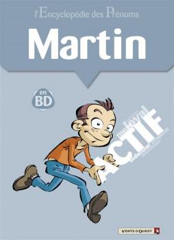 l'encyclopédie des prénoms en bd tome 37 - martin