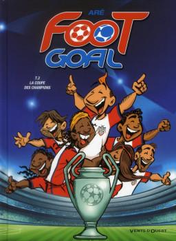 foot goal tome 3 - la coupe des champions