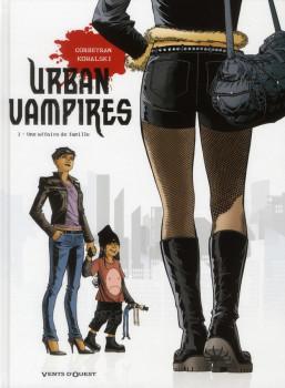 urban vampires tome 1 - une affaire de famille