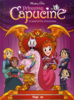 Princesse Capucine - l'apprentie princesse