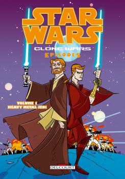 star wars - clone wars episodes tome 1 - heavy metal jedi
