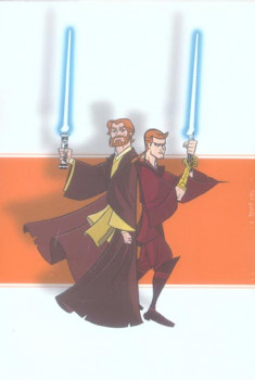 star wars - clone wars - coffret tome 1 à tome 4