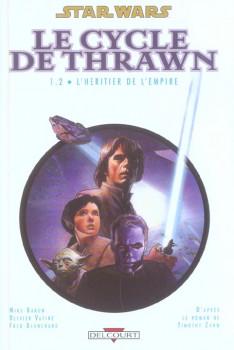 star wars - le cycle de thrawn tome 1.2 - l'héritier de l'empire