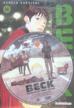 beck tome 14 + DVD