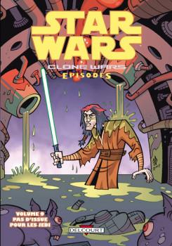 star wars - clone wars episodes tome 9 - pas d'issue jedi