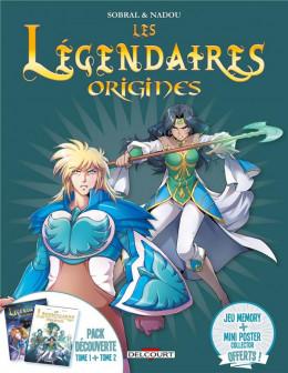 Les Légendaires - Origines - Fourreau tome 1 + tome 2