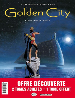 Golden city - pack 30 ans tomes 1 à 3