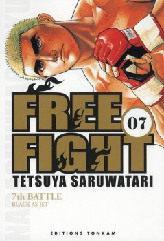 free fight tome 7 - 7th battle black as jet