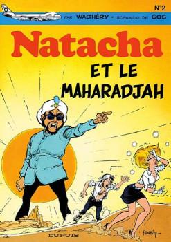 natacha tome 2 - natacha et le maharadjah
