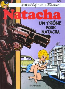 natacha tome 4 - un trône pour natacha